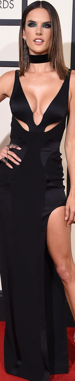 Alessandra Ambrosio 2016 Grammy Award