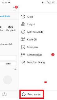 bagaimana cara melihat email instagram sendiri