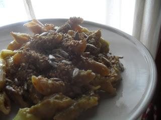 pasta curry cocco india spezia vegan