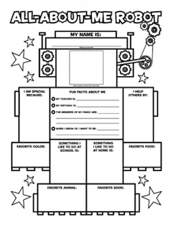 Gorgeous image regarding all about me printable worksheet