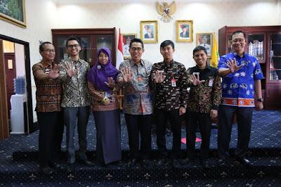 Tim Ombudsman Lampung Sambangi Pemkab Lampung Timur