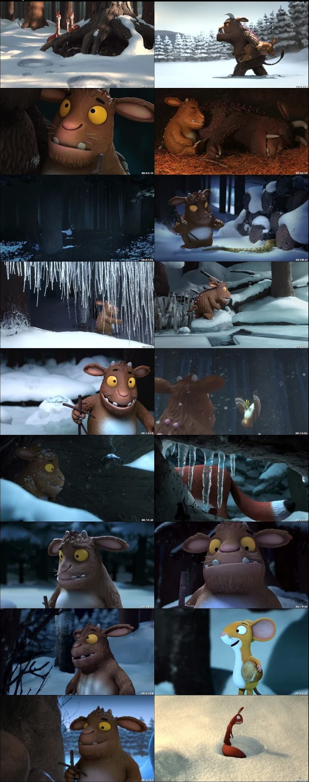The Gruffalo's Child 2011 Dual Audio