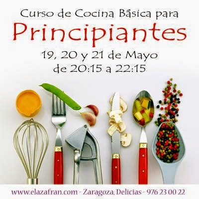 Curso De Cocina Basica Para Principiantes De Martes A Jueves Dias