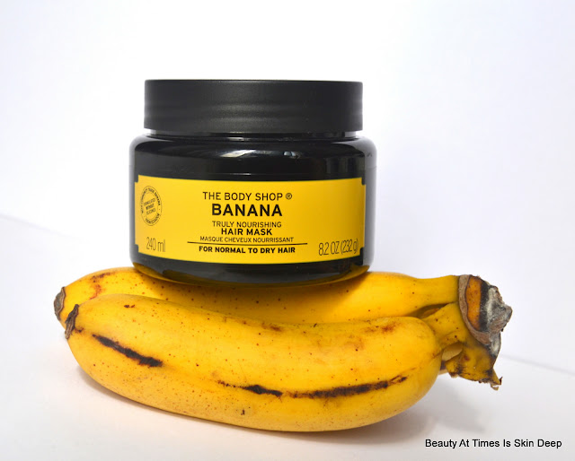 The Body Shop Truly Nourishing Banana Hair Mask