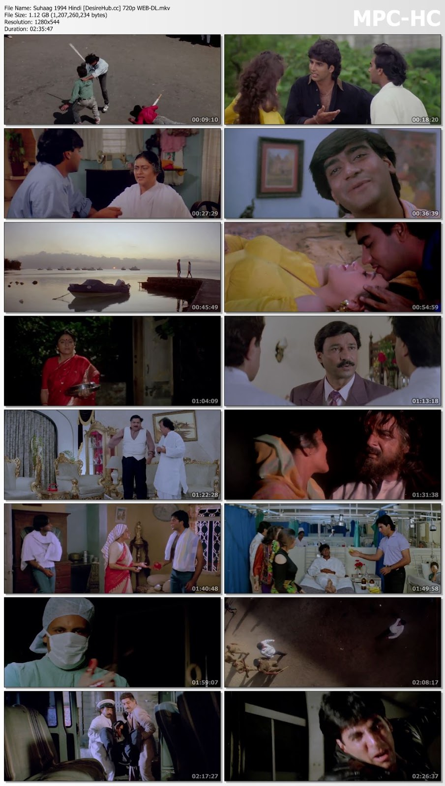 Suhaag 1994 Hindi 720p WEB-DL 1.1GB Desirehub