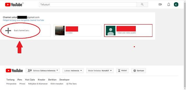 Membuat Beberapa Channel YouTube dalam Satu Akun