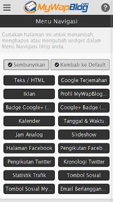 menu navigasi mwb mywapblog