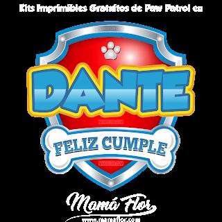 Logo de Paw Patrol: DANTE
