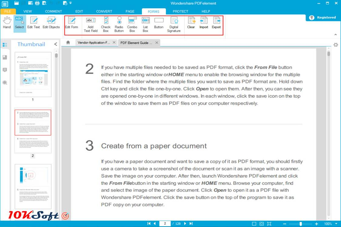 Wondershare PDF Element 5.5.1 Offline Installer Download