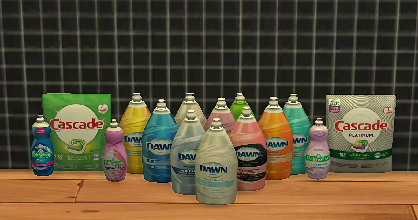 Ts4 Cleaning Supplies Ydb