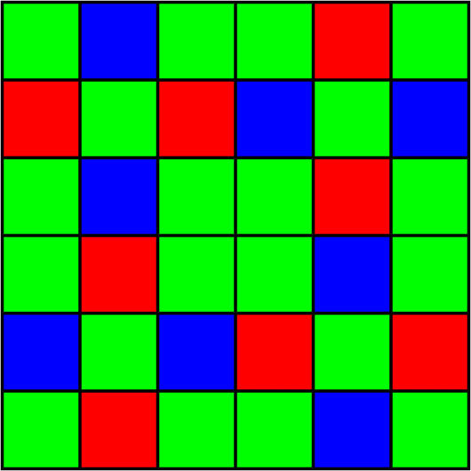 Цветной фильтр X-Trans