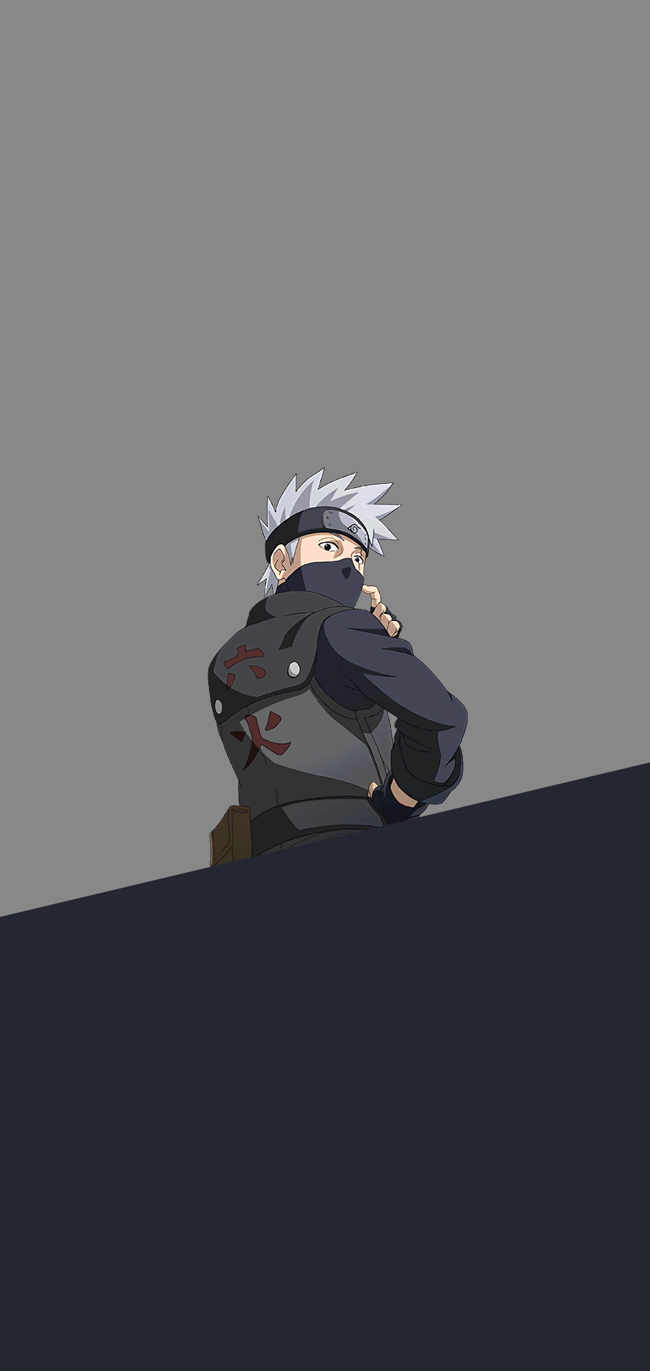 naruto anime kakashi background phone wallpaper