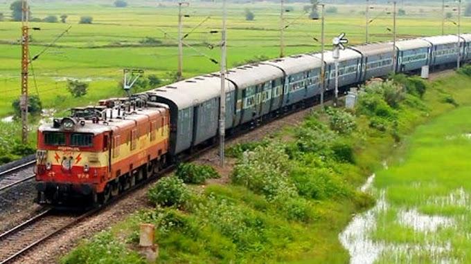 मंदसौर। गाड़ी संख्या 09330 उदयपुर इंदौर स्पेशल ट्रेन का ठहराव मंदसौर स्टेशन पर 05 मिनट