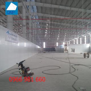 Vách ngăn panel nhà xưởng Hà Nội