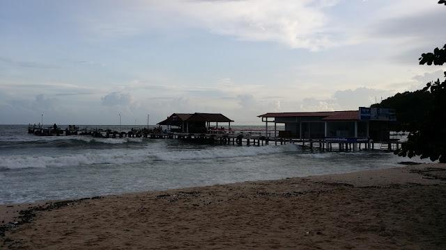 Embarcadero en Sihanoukville