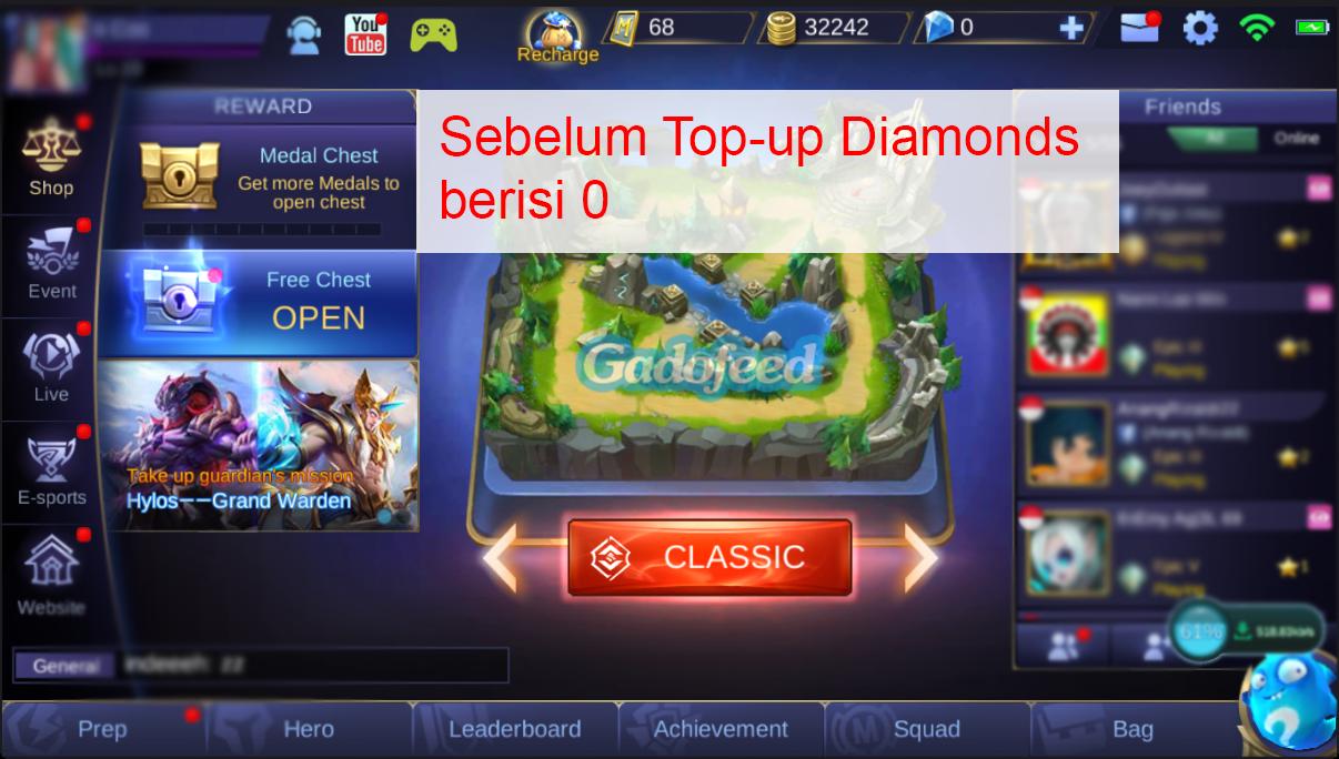 Cara top up diamonds mobile legends di codashop dengan pulsa gadofeed sebelum top up stopboris Choice Image