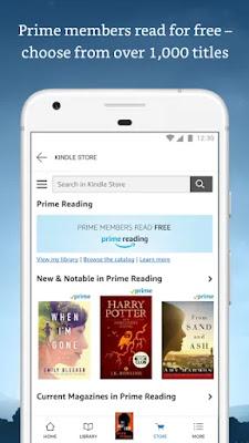 Screenshot Amazon Kindle