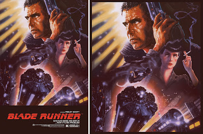 Blade Runner Movie Poster Screen Print by John Alvin x Justin Ishmael x Bottleneck Gallery