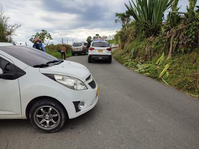 Accidente de tránsito en santa rosa de cabal dejo 3 lesionados