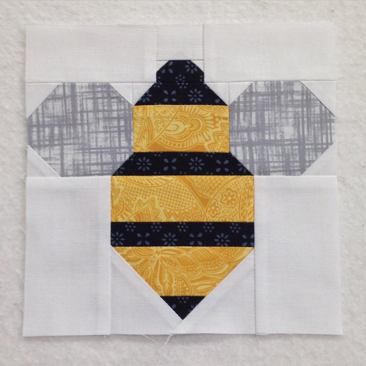 Quilt Monkey: March 2016 : bee quilt pattern - Adamdwight.com