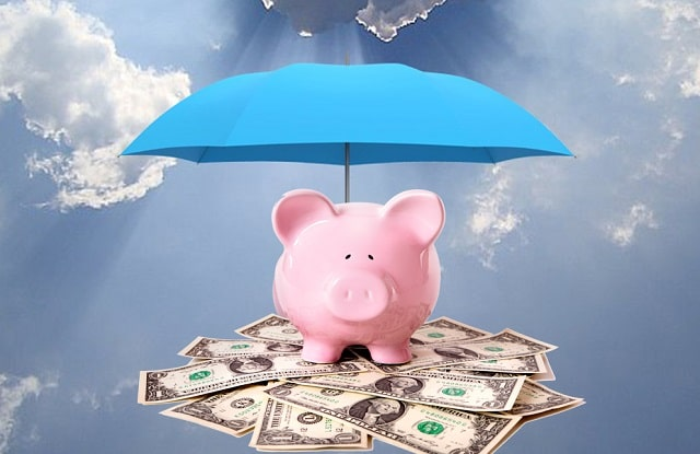 personal finances saving money rainy day fund