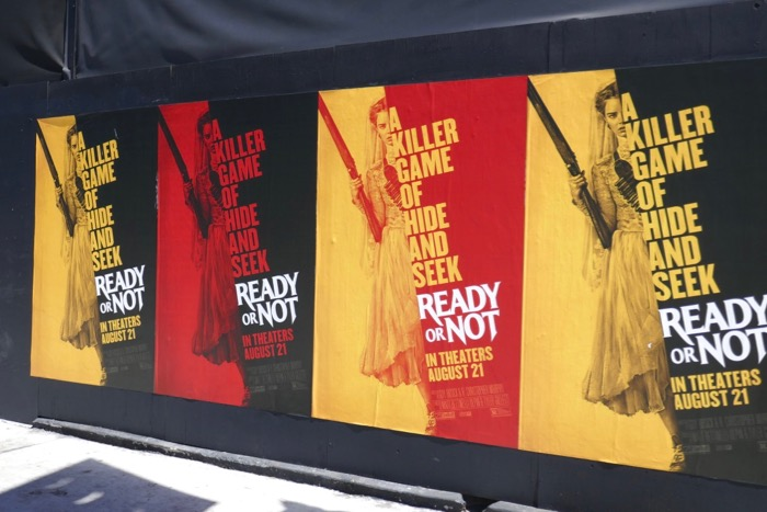 Ready or Not movie street posters