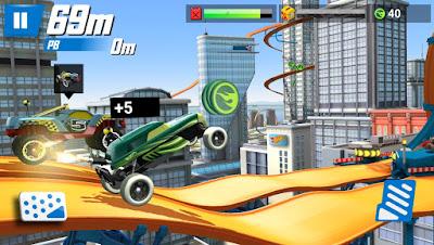 Hot Wheels Race Off Screenshot