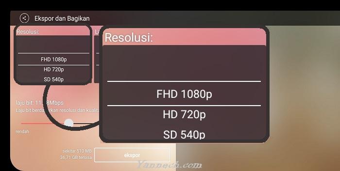 Cara Menampilkan Resolusi 1080p dan 60fps di Aplikasi KineMaster