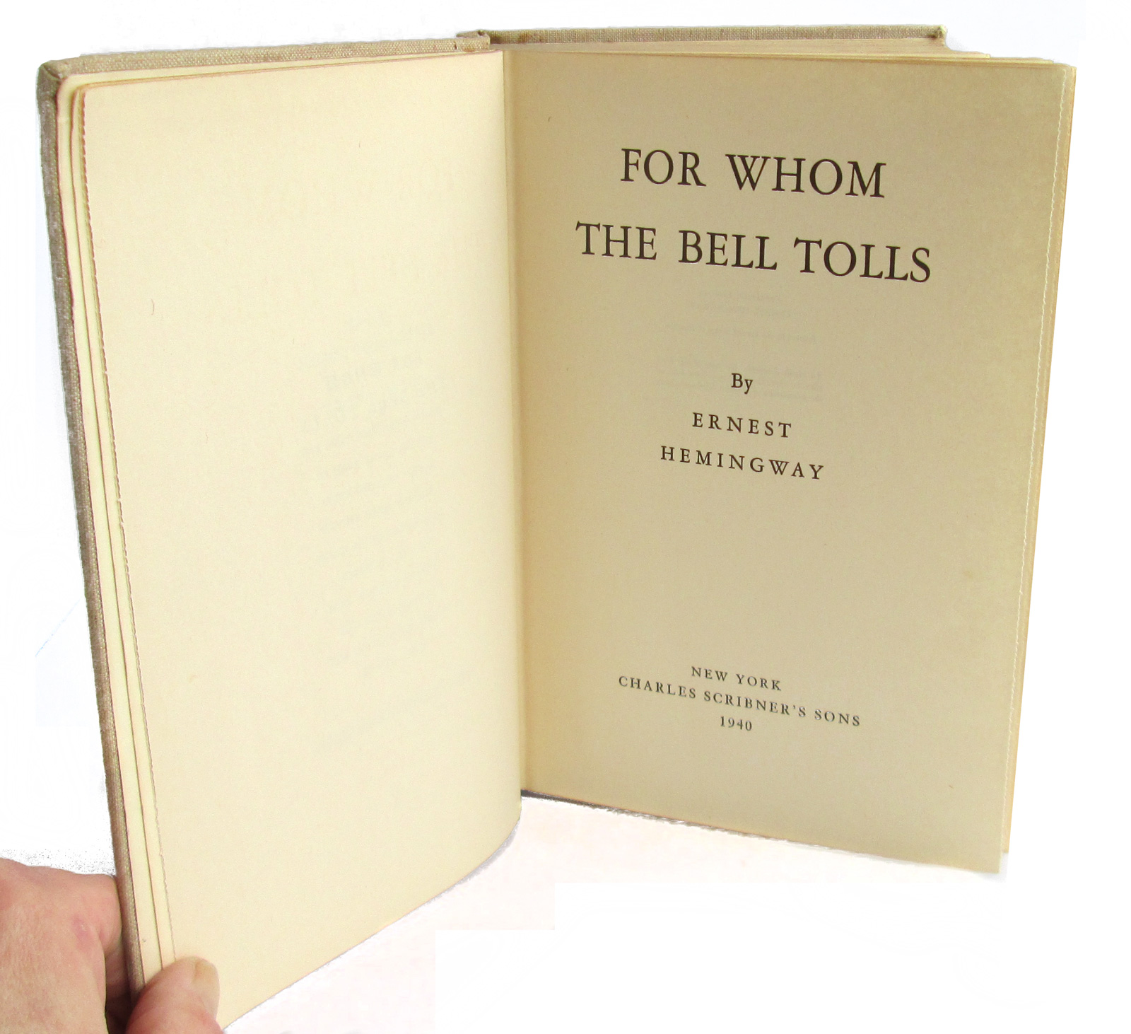 a book review of for whom the bell tolls by ernest hemingway It's the only ernest hemingway book i've ever read (apart from the old man and the sea, which almost doesn't count because it's so beautiful and austere it reads like a story that has always existed about the creation of the world) i read for whom the bell tolls every day on the train, swallowing.