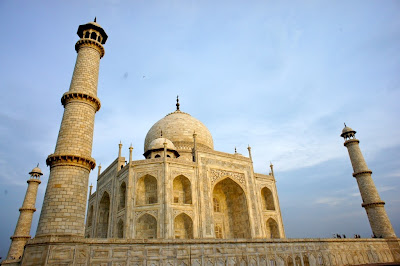 Golden look of Taj Mahal
