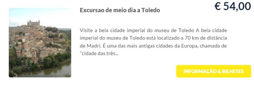 Madri - compre ingressos on-line para as atrações - Excursão de meio dia a Toledo - Ticketbar