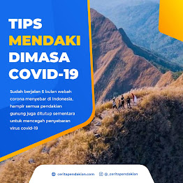 tips mendaki gunung corona