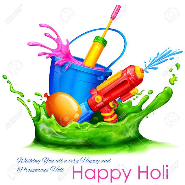 Happy Holi Pichkari Images