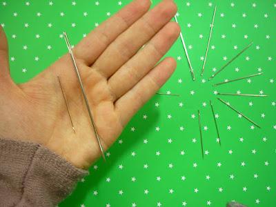 Qual agulha escolher para artesanato em feltro
