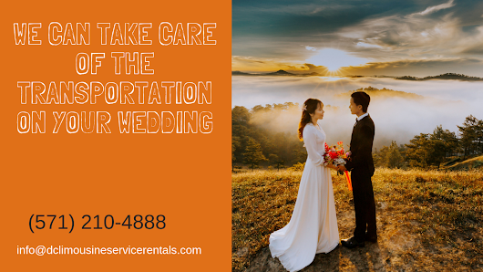 We Can Take Care Of The Transportation On Your Wedding