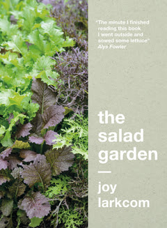 Cover of 'The Salad Garden' by Joy Larkcom. (Publisher's picture.)