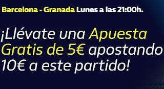 william hill Apuesta Gratis Barcelona vs Granada 20-9-21