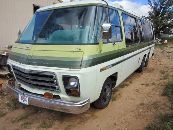 Used RVs 1974 GMC Motorhome RV for Sale For Sale by Owner