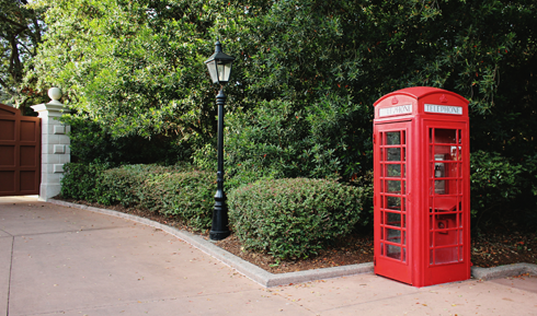 United Kingdom Pavilion Epcot
