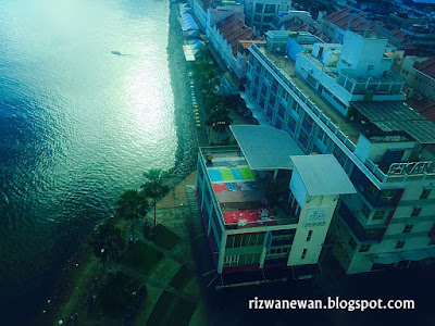 Sandakan City View Dari Hotel Four Point