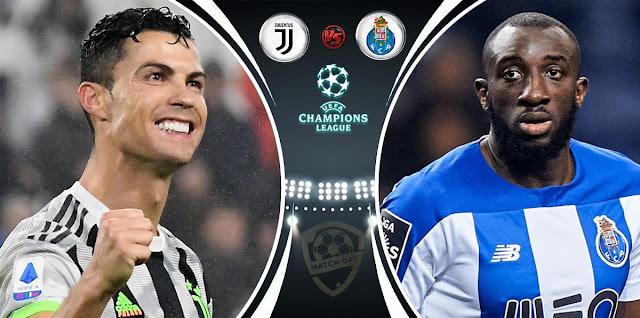 Juventus vs Porto Prediction & Match Preview