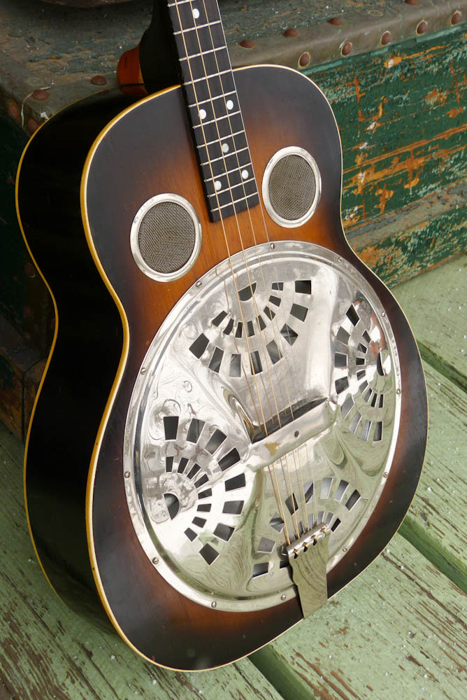 C 1930 Regal Actual Dobro Tenor Guitar