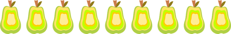 pear border