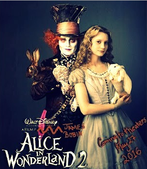 Film Alice in wonderland Through the Looking Glass