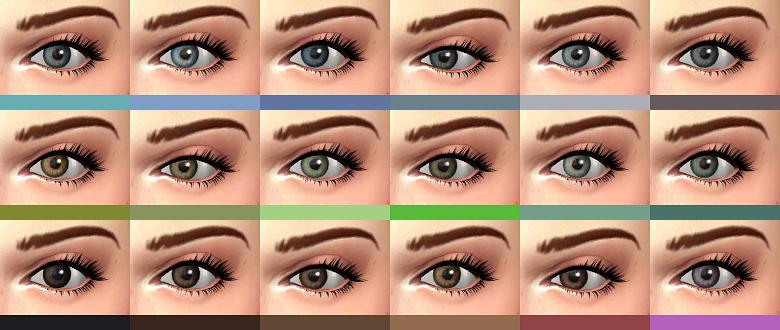Sims 4 Cc Default Eyes Replacement Melanin