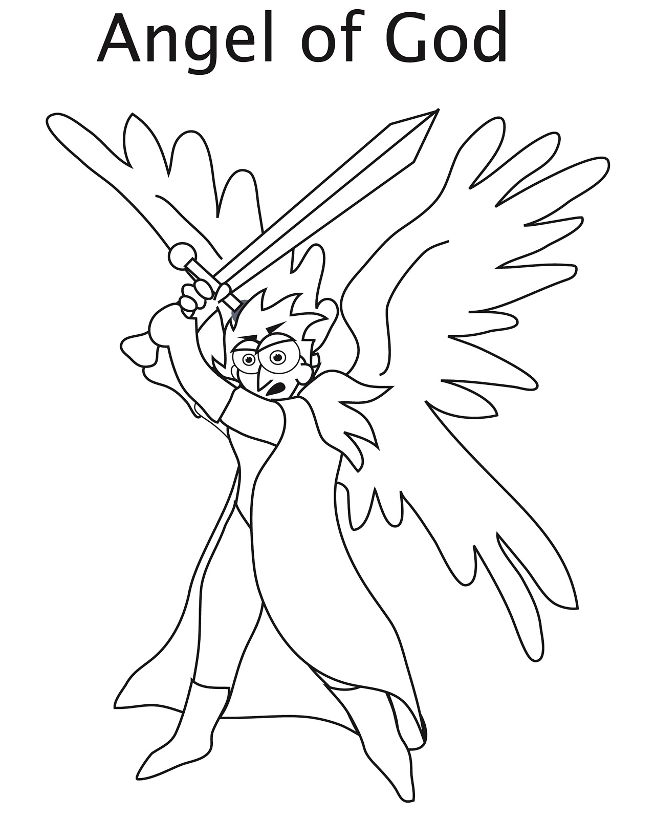 sword coloring pages - photo#36