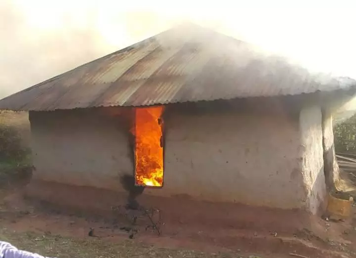 Photo: Mother and daughter burnt alive for witchcraft in Kenya