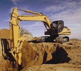 Pekerjaan Galian Tanah Dengan Alat Excavator