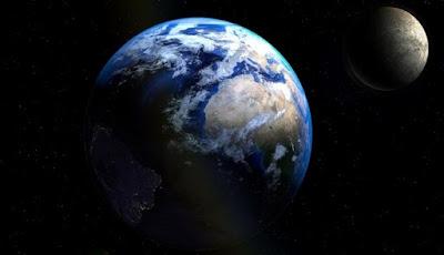 Inilah Foto Bumi dan Bulan dari Jarak 63 Juta Kilometer
