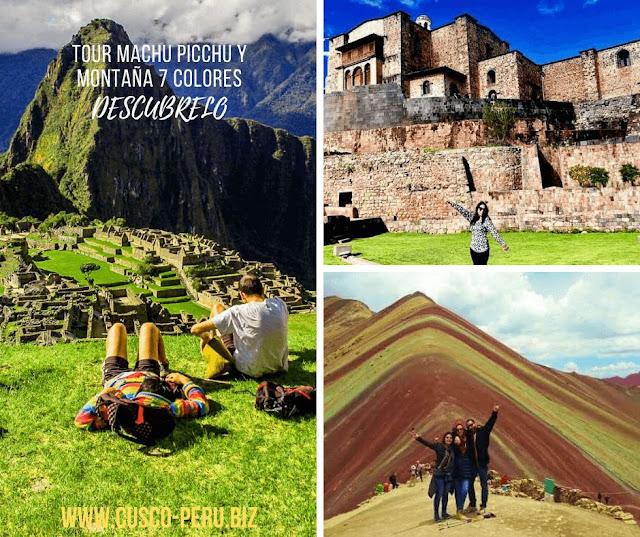 Tour Machu picchu y montaña 7 colors